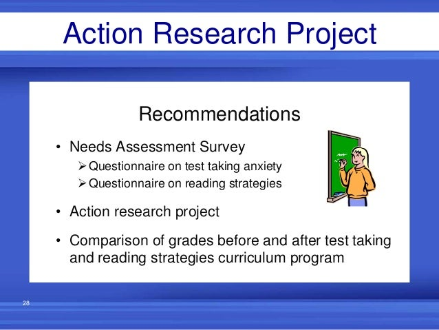 reading comprehension action research Reading comprehension strategies for struggling, adolescent readers action research project c&i 600: graduate seminar western illinois university.