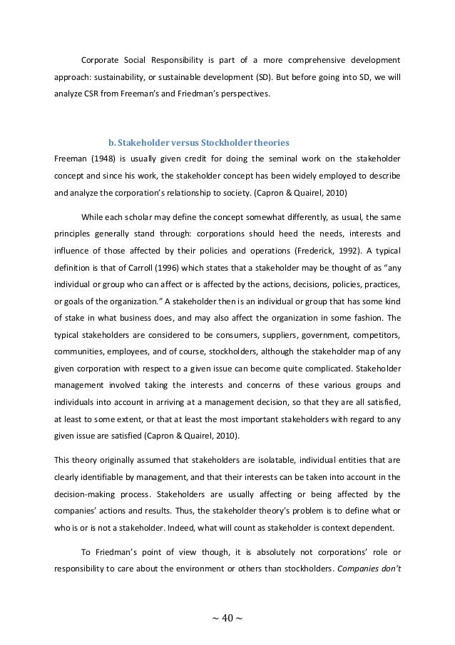 csr in smes + thesis A comparative case study on corporate social responsibility (csr) between  232 drivers and barriers for csr of smes  the thesis shows that both mncs and smes.