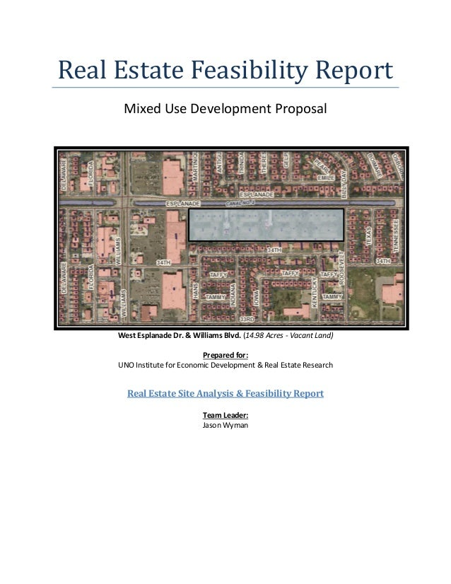 real estate feasibility study template.html