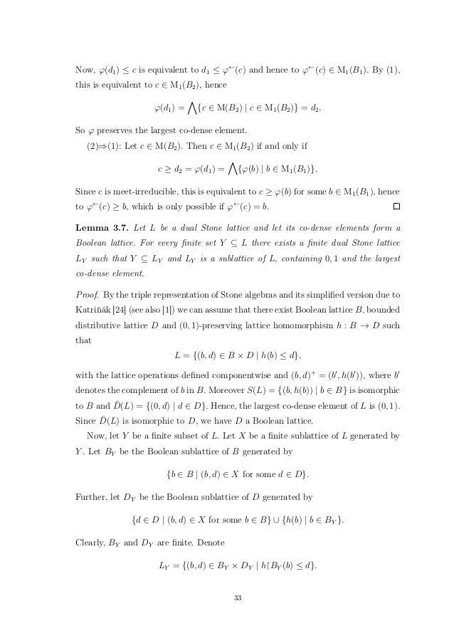Congruence Lattices Of Algebras