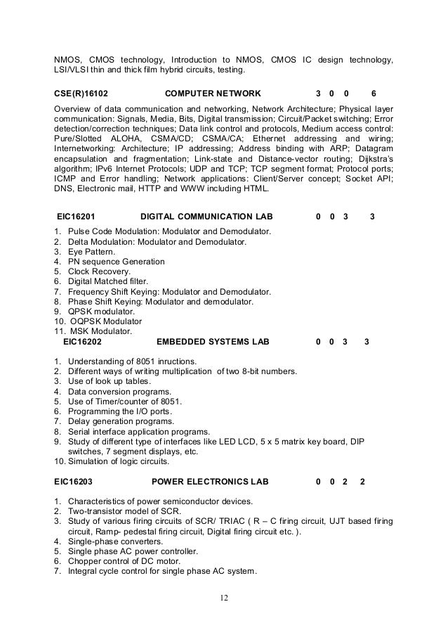 syll b tech Btech (full time) - electrical and electronics engineering curriculum & syllabus 2013 - 2014 (all courses except open electives) volume - i.