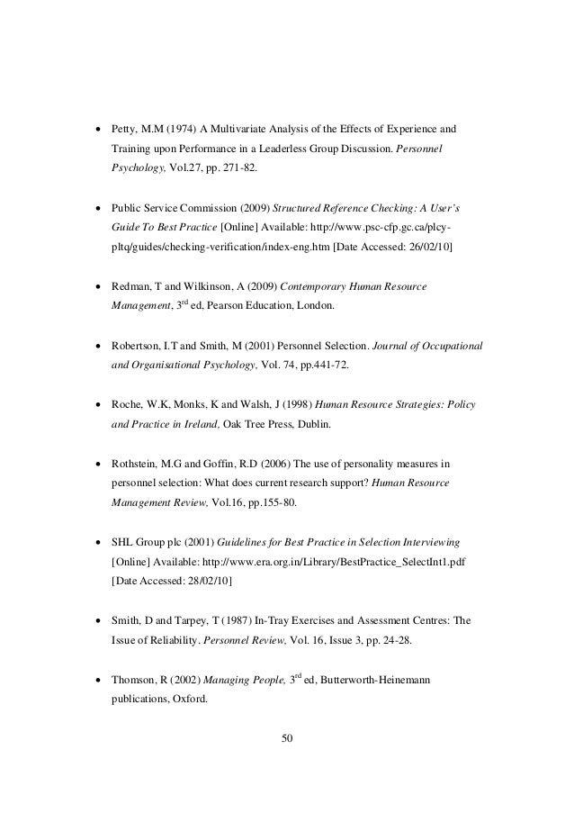Final Copy Of Thesis PDF Format