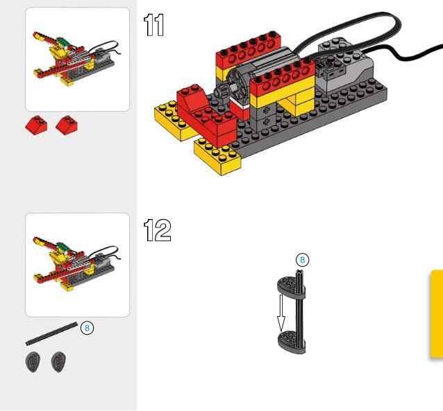 lego wedo 9580 instructions