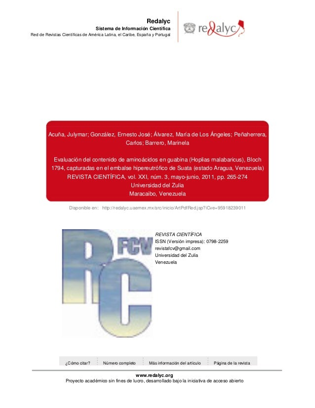 Disponible en: http://redalyc.uaemex.mx/src/inicio/ArtPdfRed.jsp?iCve=95918239011 Redalyc Sistema de Información Científic...