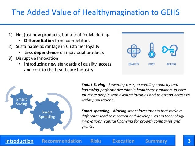 healthymagination at ge case analysis summary Transcript of ge iot case analysis ge's industrial internet overview swot analysis industrial internet - the catchphrase used by jeff immelt has become commonplace.