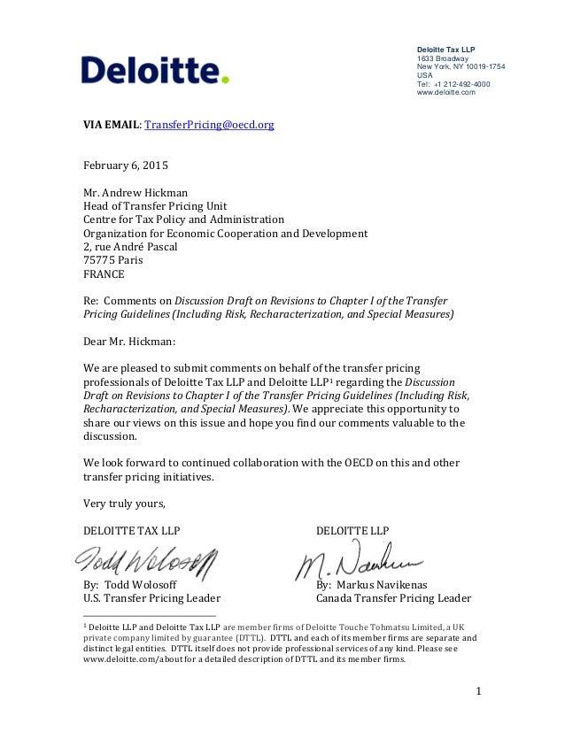 Deloitte Offer Letter