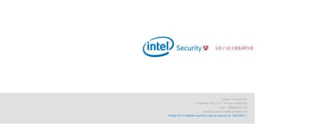 UX / UI CREATIVE vatsal d panchal Creative UX / UI / Visual designer Cell - 8980932126 vatsal.d.panchal@gmail.com https://...