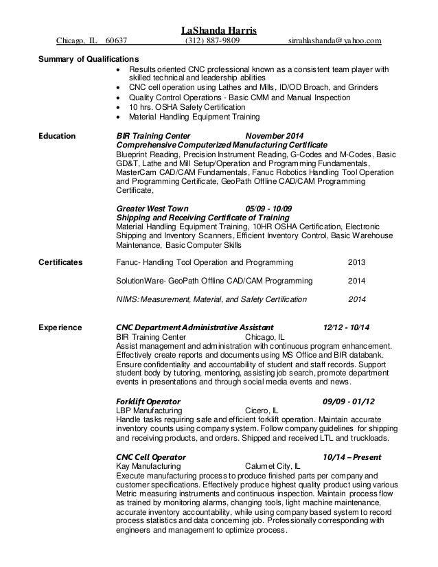 lashanda harris resume 2016 final