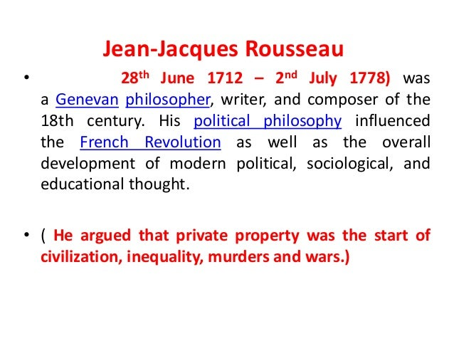 Rousseau Contract Theory