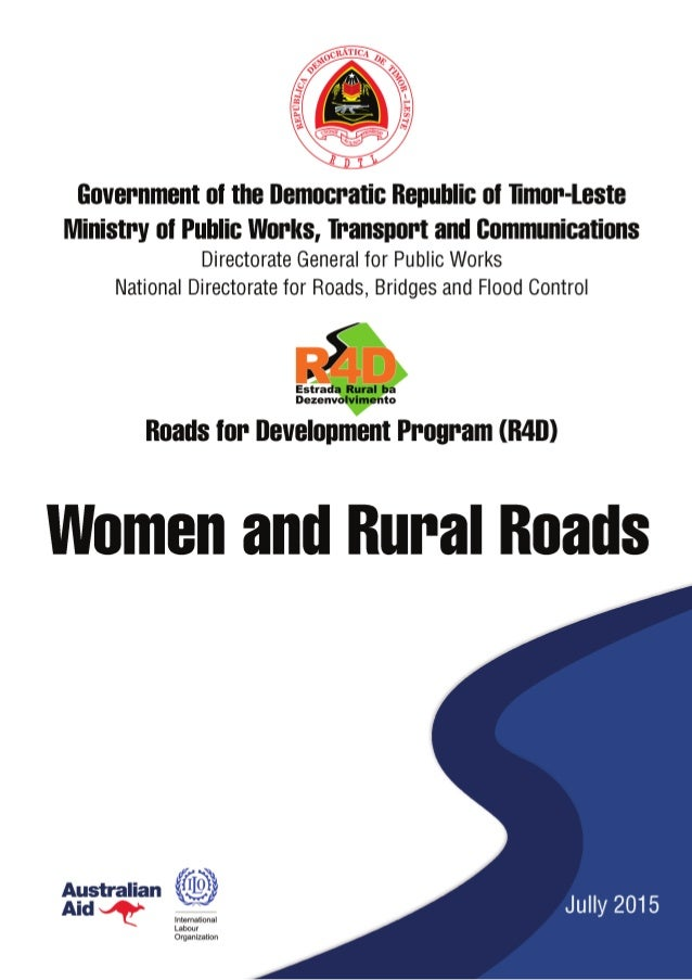 IWomen and Rural Roads ABBREVIATIONS AND ACRONYMS CDO CVTL IADE M&E MIS MPWTC NDRBFC R4D SEM SISCa WASH PAKSI Community De...