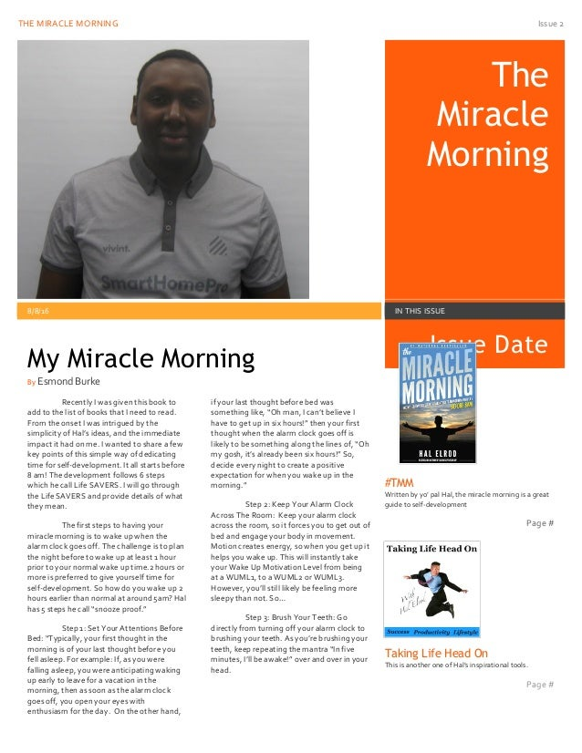 miracle morning hal elrod pdf download