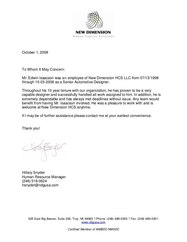 Ndg Letterhead Ed Isaacson Reference Letter 1