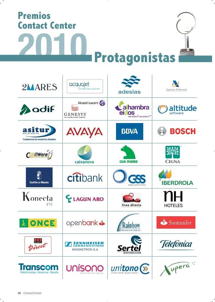 PremiosContact Center2010 Protagonistas                   MAGNETRON S.A96 ContactCenter