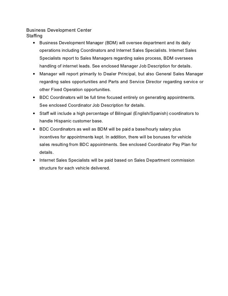 96 bdc operations manual template