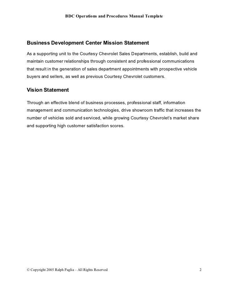 96 Bdc Operations Manual_template