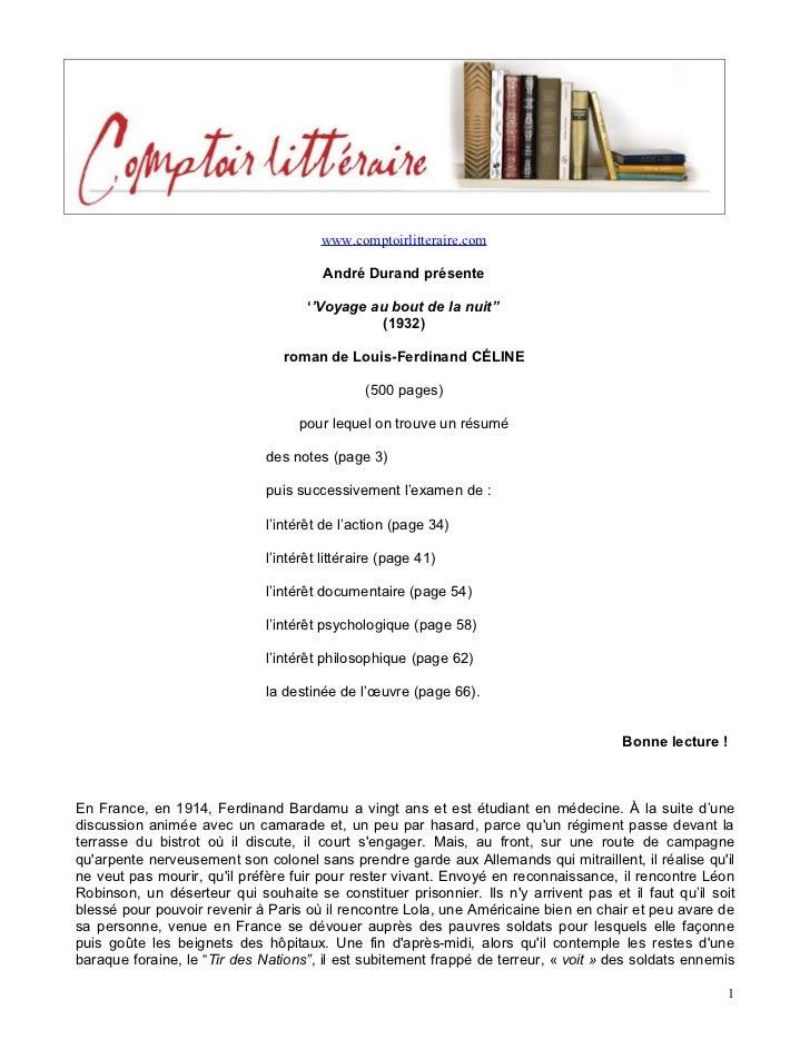 www.comptoirlitteraire.com                                        André Durand présente                                   ...