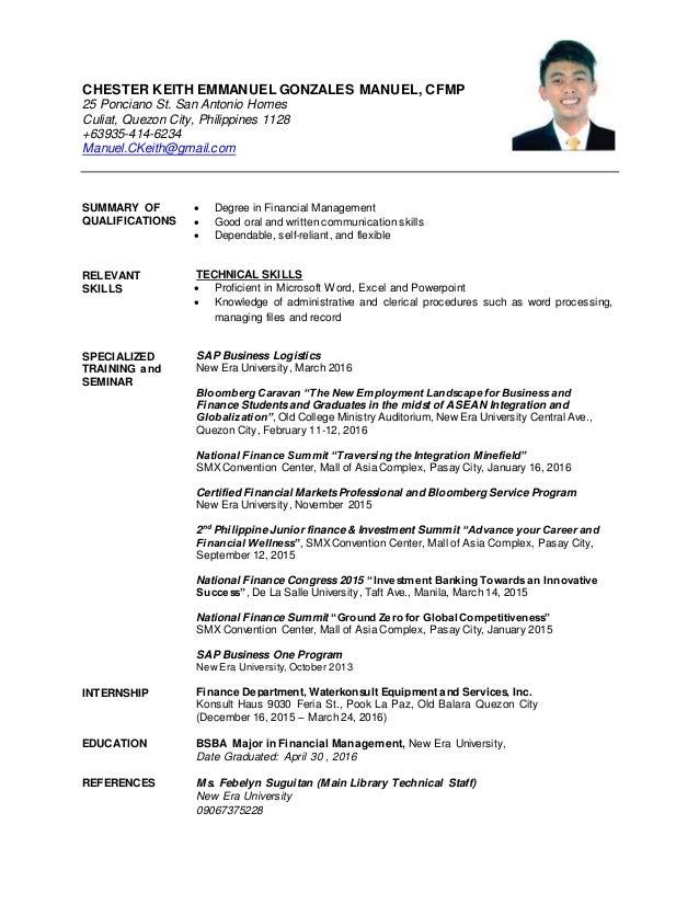 manuel manuel resume