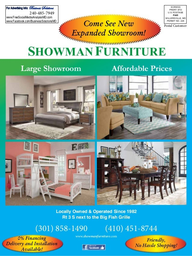 Showman Furniture Back Cover. Postal Customer Affordable PricesLarge  Showroom Locally Owned U0026 Operated Since 1982 Rt 3 S Next To