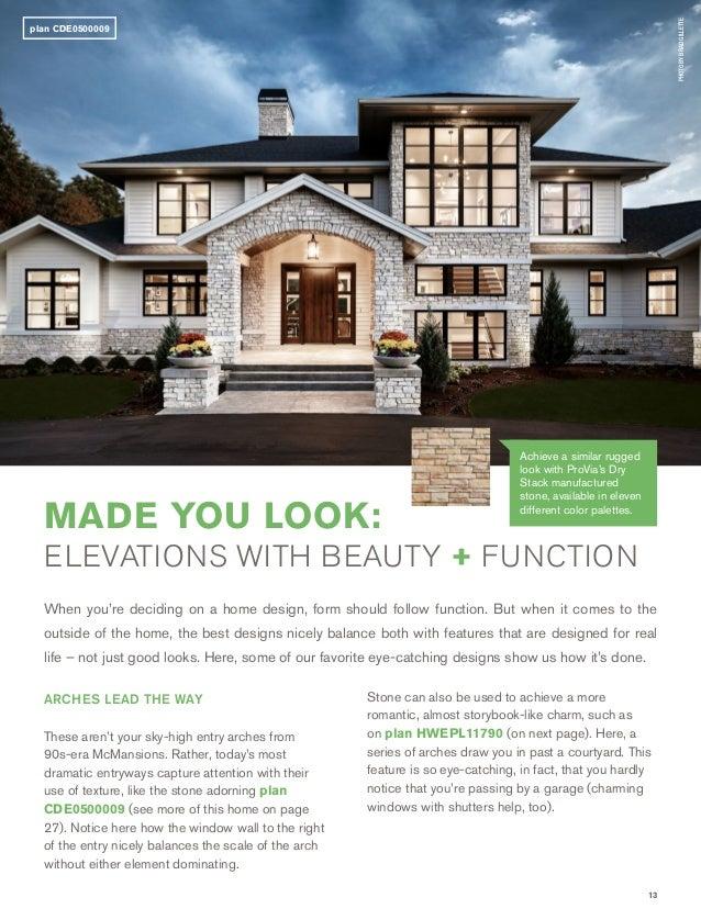 nice custom home design plans. 15  Provia Custom Home Plan Portfolio