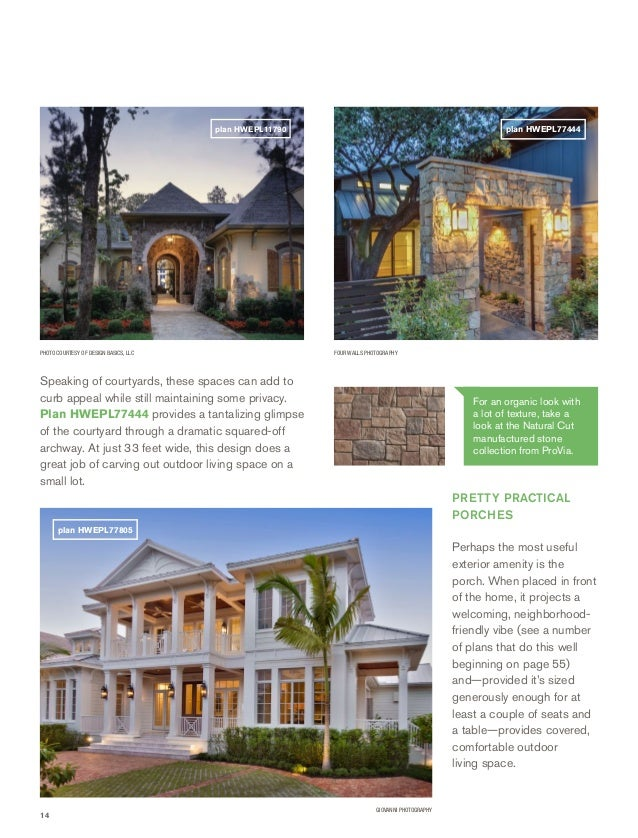 16 Provia Custom Home Plan Portfolio