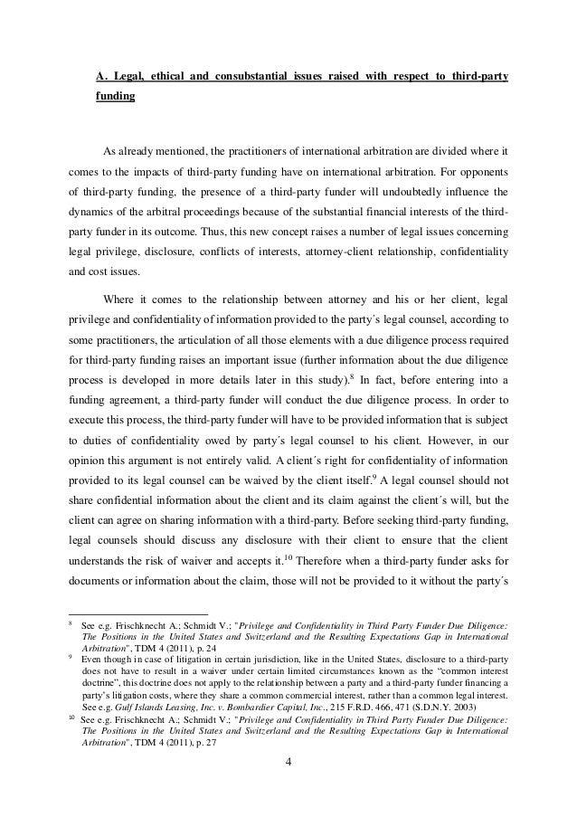 Dissertation arbitration