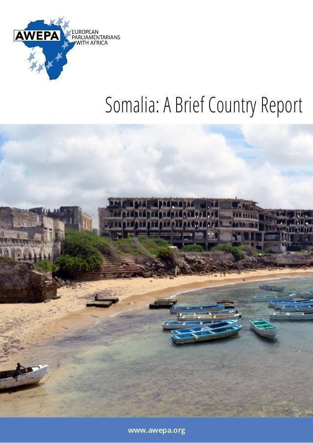 Somalia: A Brief Country Report www.awepa.org