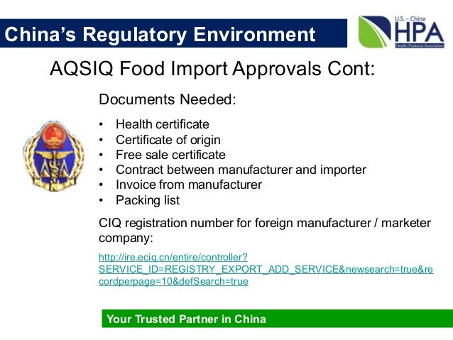 China market overview 2015 03 06 chinas regulatory environment yadclub Gallery
