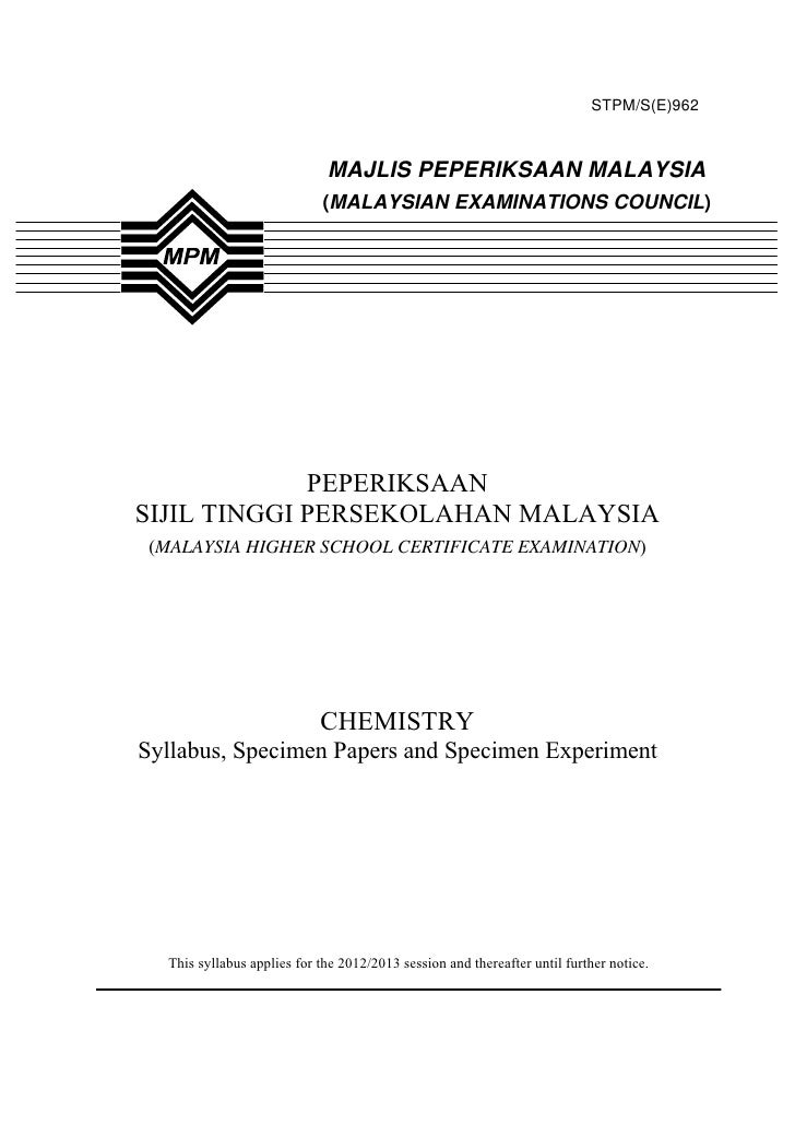STPM/S(E)962                             MAJLIS PEPERIKSAAN MALAYSIA                            (MALAYSIAN EXAMINATIONS CO...