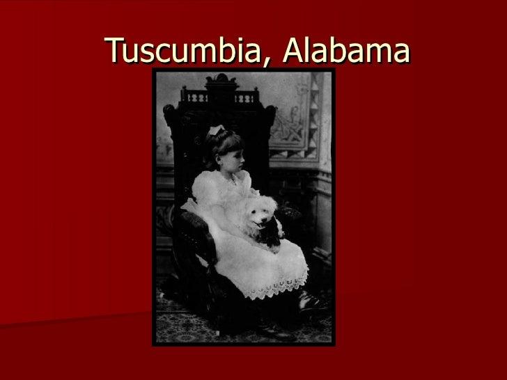 Tuscumbia, Alabama