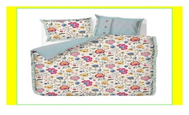 Pip Studio Floral Fantasy Bettwäsche Ecru 135x200 80x80