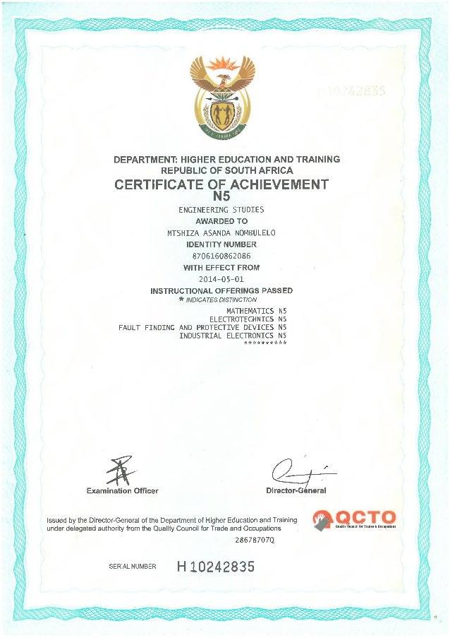 college certificates n drivers license Slide 2