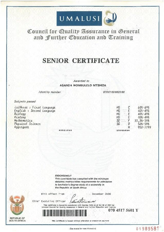 college certificates n drivers license Slide 3