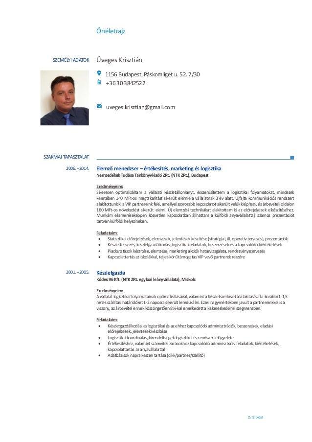 önéletrajz folyamatban lévő tanulmányok Kisero+CV_HU_ÜvegesK önéletrajz folyamatban lévő tanulmányok