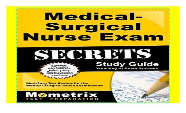Med Surg Nursing Exam 1