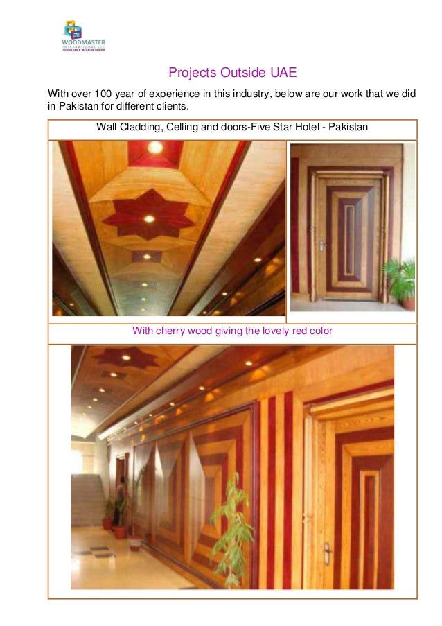 Profile and pre-qualification of Wood Master-Dec in-2016 complete com…