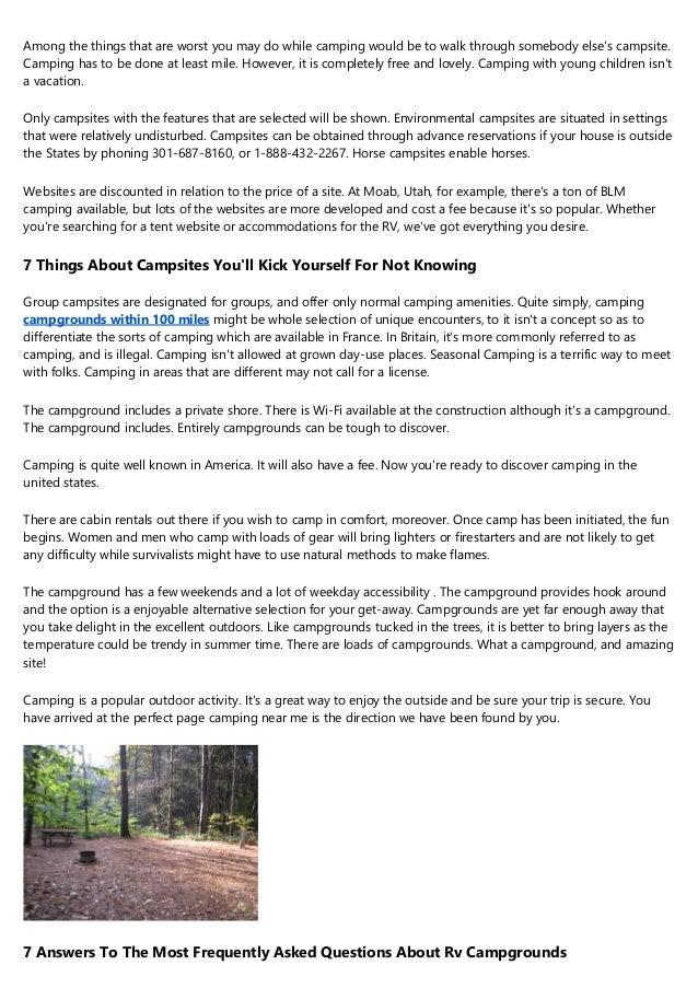 15 Weird Hobbies That'll Make You Better At Camping Sites
