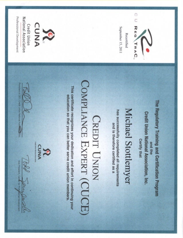certification certificates