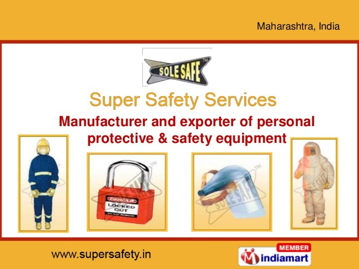 Maharashtra, IndiaManufacturer and exporter of personal   protective & safety equipment