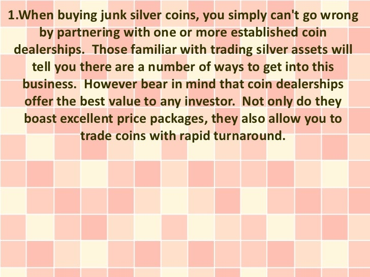 Why it Makes Good Investment Sense to Buy Junk Silver Coins