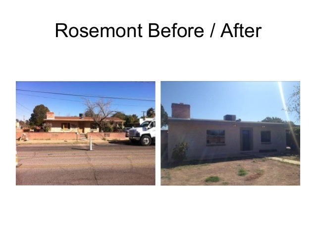 Rosemont Before / After