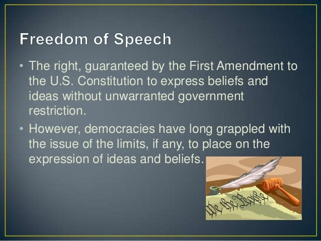 an overview of the freedom of speech on the internet Why free speech freedom of expression has long been regarded as one of the fundamental principles of modern  can free speech on the internet be stopped by .