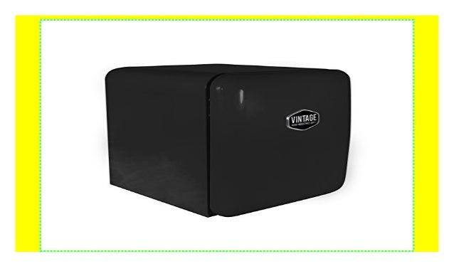 Kühlschrank Retro Schwarz : Vintage industries mini retro kühlschrank miami in schwarz u
