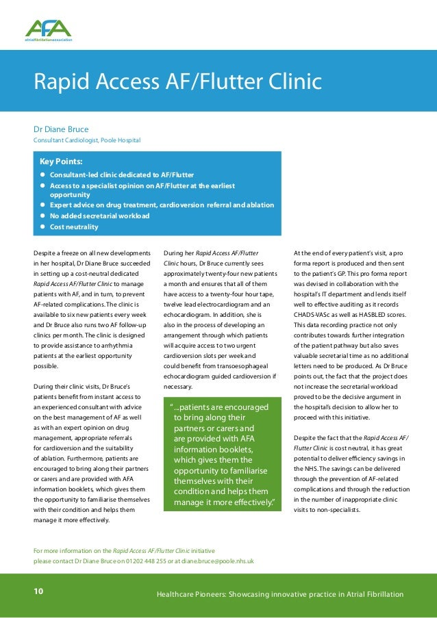 Healthcare Pioneers Booklet published 25 October 2011