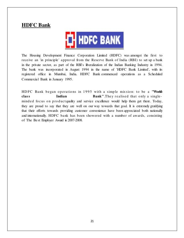 Organisational Study on Indian Banking Sector - SBI