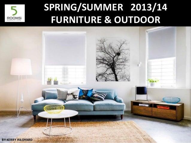 Spring Summer Trends Furniture Trends