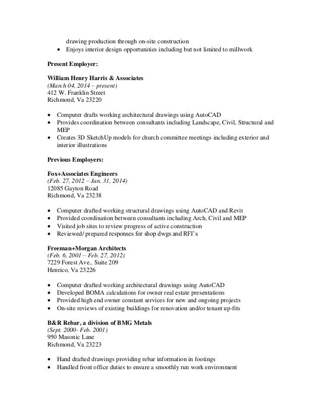Carmen S Huffman 2015 construction resume
