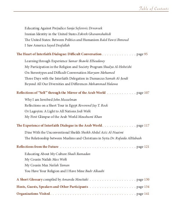 The best american essays of the century table of contents