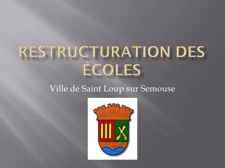 Ville de Saint Loup sur Semouse