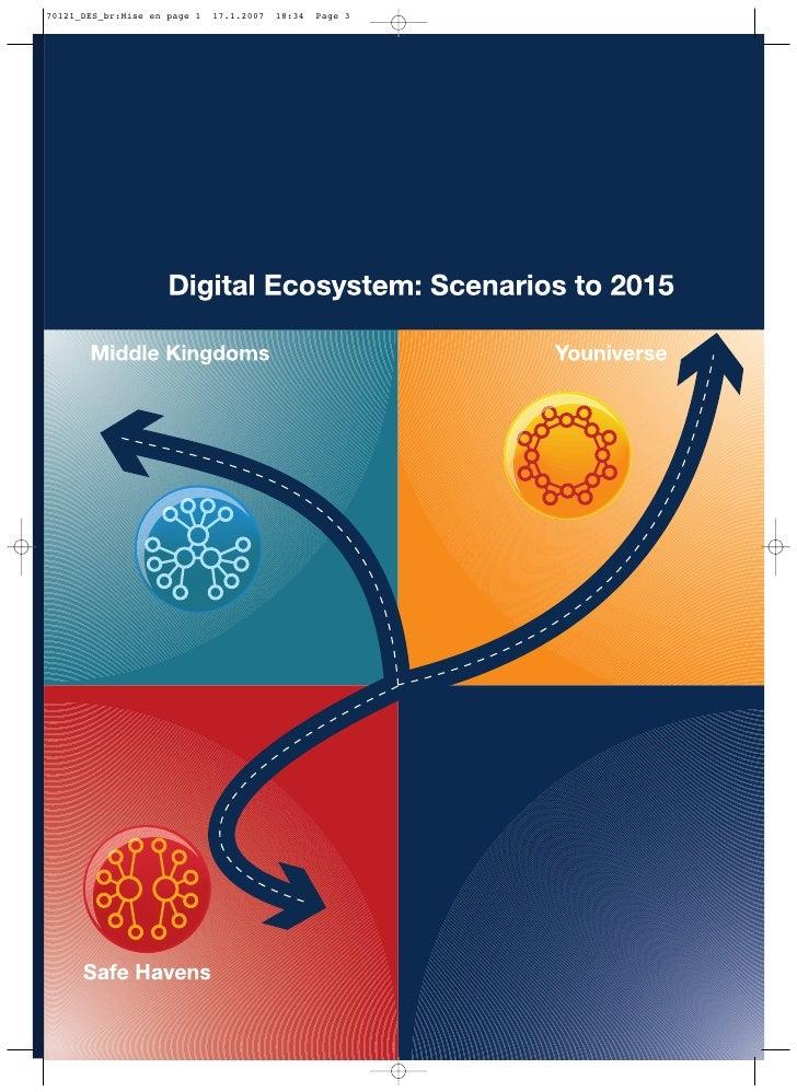 Digital Ecosystem: Scenarios to 2015                                            Introduction Introduction                 ...