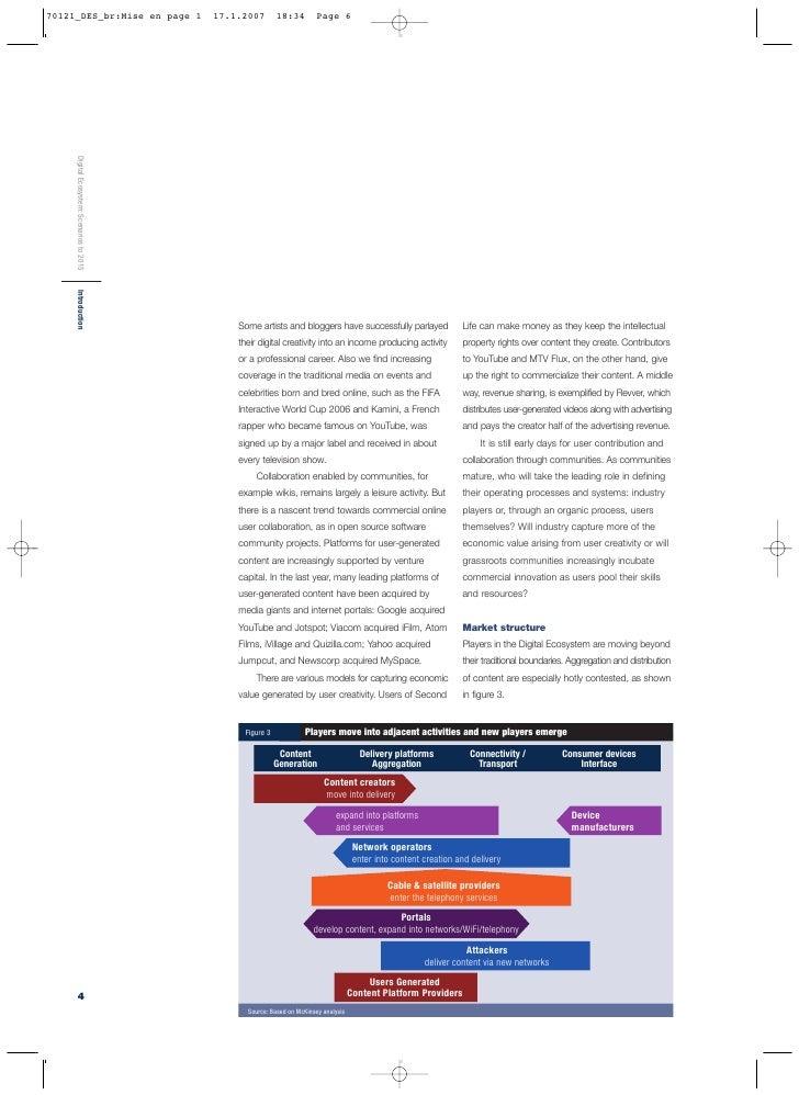 Digital Ecosystem: Scenarios to 2015                                                                                      ...